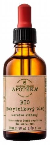 Havlíkova přírodní apotéka BIO Rakytníkový olej