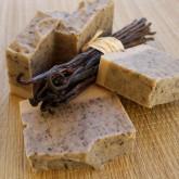 Ponio Vanilkové peelingové mýdlo