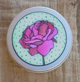 Ponio Přenoska - plechovka hliníková vyšší – růže