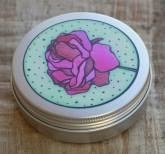 Přenoska - plechovka hliníková, nižší – růže Ponio