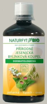 Bio dermatologická koupel Naturfyt bio