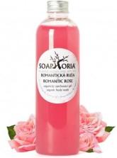 Organický sprchový gel - Romantická růže Soaphoria