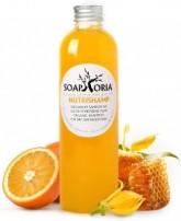 Soaphoria NutriShamp, tekutý přírodní šampon pro suché, poškozené vlasy