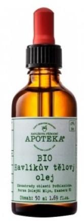 Bio Havlikův tělový olej 30 ml