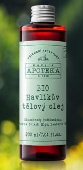 Bio Havlikův tělový olej 200 ml