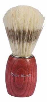 Přírodní štětka na holení - bukové dřevo světlé štětinky Redecker