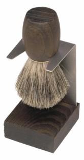 Stojan na štětku na holení - termo dřevo Redecker