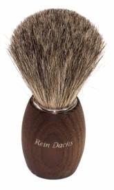 Přírodní štětka na holení - termo dřevo tmavé štětinky Redecker