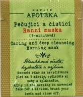Havlíkova přírodní apotéka Královská snídaně pro pleť, 3-minutová ranní maska VZOREK