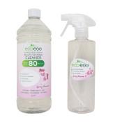 Eko antibakteriální vysoce koncentrovaný čistič s vůní Jarních květů Ecoegg