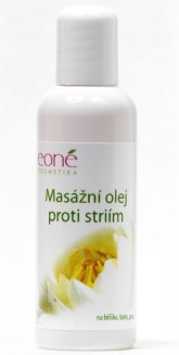 Masážní olej proti striím 100 ml Eoné sleva Exp 7/2017