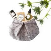 Kosmetická taška Lípa od Mylo tmavá