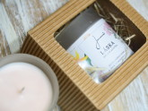 Limitovaná edice Zdravá sójová svíčka Láska od Jemnô