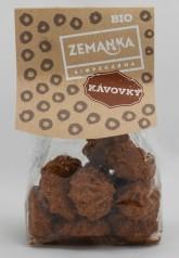 Biopekárna Zemanka Kávové bio sušenky s kokosem