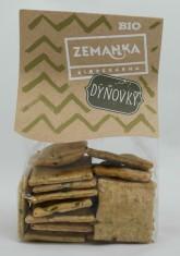 Biopekárna Zemanka BIO špaldové krekry s dýň. semínkem a česnekem