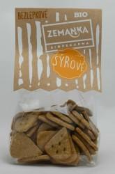BIO bezlepkové sýrové krekry Biopekárna Zemanka