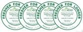 Ecoegg Disky pro uchování čerstvosti potravin 4 ks