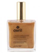 Avril Organic Bronzující suchý tělový olej