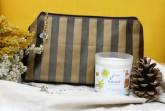 Minus 417 Kosmetická taška brown logo purse
