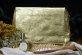 Minus 417 Kosmetická taška Golden croco bag