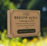 Havlíkova přírodní apotéka Máslové mýdlo - Ovesné vločky s medem