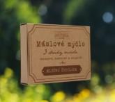Havlíkova přírodní apotéka Máslové mýdlo - Mléčná čokoláda