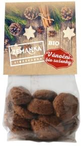 Biopekárna Zemanka Vánoční BIO sušenky s vlašskými ořechy a kořením 100 g