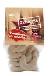 Biopekárna Zemanka Vanilkové bio rohlíčky limitovaná edice 100 g