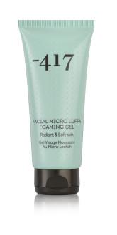 Minus 417 Pleťový pěnivý gel, mikro Lufa 100 ml