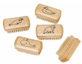 Redecker Kartáček na čištění nehtů pro děti bukové dřevo 5,8 cm