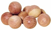 Redecker Kuličky proti molům z červeného cedrového dřeva