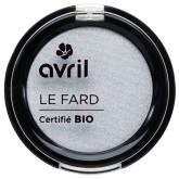 Avril Organic Gris perle irisé, BIO oční stíny stříbrné