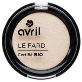 Avril Organic Krémové oční stíny Désert (béžové)