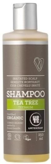 Urtekram Šampon s tea tree pro podrážděnou vlasovou pokožku BIO 250 ml