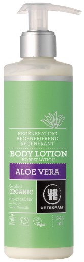 Urtekram Regenerační tělové mléko s aloe vera BIO 245 ml