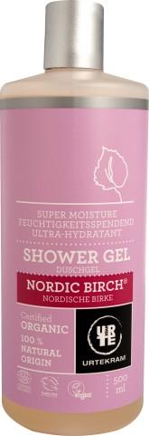 Urtekram Ultrahydratační sprchový gel - severská bříza BIO 500 ml
