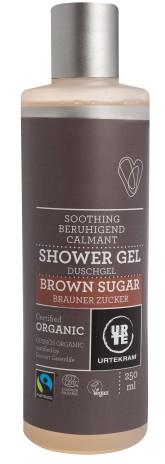 Urtekram Zklidňující sprchový gel s hnědým cukrem BIO 250 ml