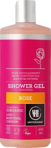 Urtekram Rozmazlující růžový sprchový gel BIO 500 ml