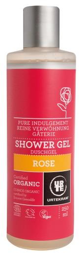 Urtekram Rozmazlující růžový sprchový gel BIO 250 ml