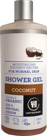 Urtekram Hydratační sprchový gel s kokosovým nektarem BIO