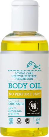 Urtekram Něžný tělový olej pro miminka BIO