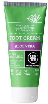 Urtekram Regenerační krém na nohy s aloe vera BIO