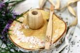 Curanatura Bambusový stojánek na zubní kartáčky - malý