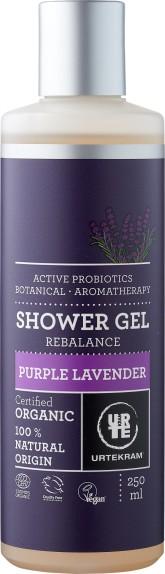 Urtekram BIO Sprchový gel levandule pro normální a suchou pleť 250 ml