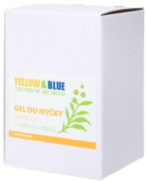 Yellow&Blue Gel do myčky na nádobí z mýdlových ořechů (bag-in-box 5 l)