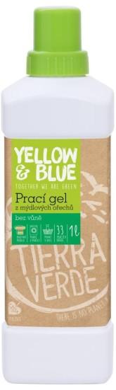 Yellow&Blue Prací gel z mýdlových ořechů bez vůně