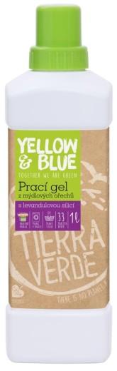 Yellow&Blue Prací gel z mýdlových ořechů s levandulovou silicí