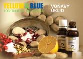 Yellow&Blue Brožura Voňavý úklid s přírodními silicemi