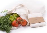 Casa Organica Plátěná nákupní taška z biobavlny (40×37×10 cm)