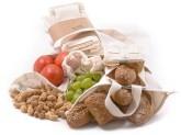 Casa Organica Sada z biobavlny – Farmářský trh (4 typy sáčků a taška) 5 ks